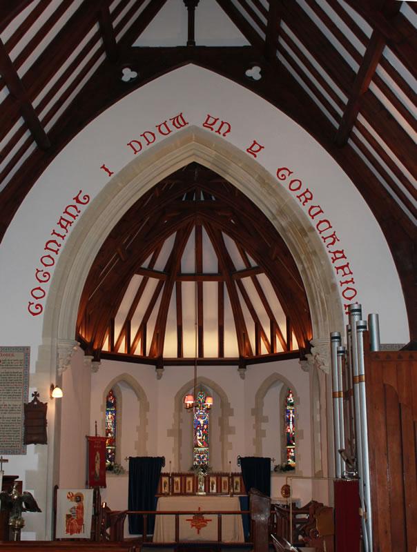 St Barnabas Church - the chancel