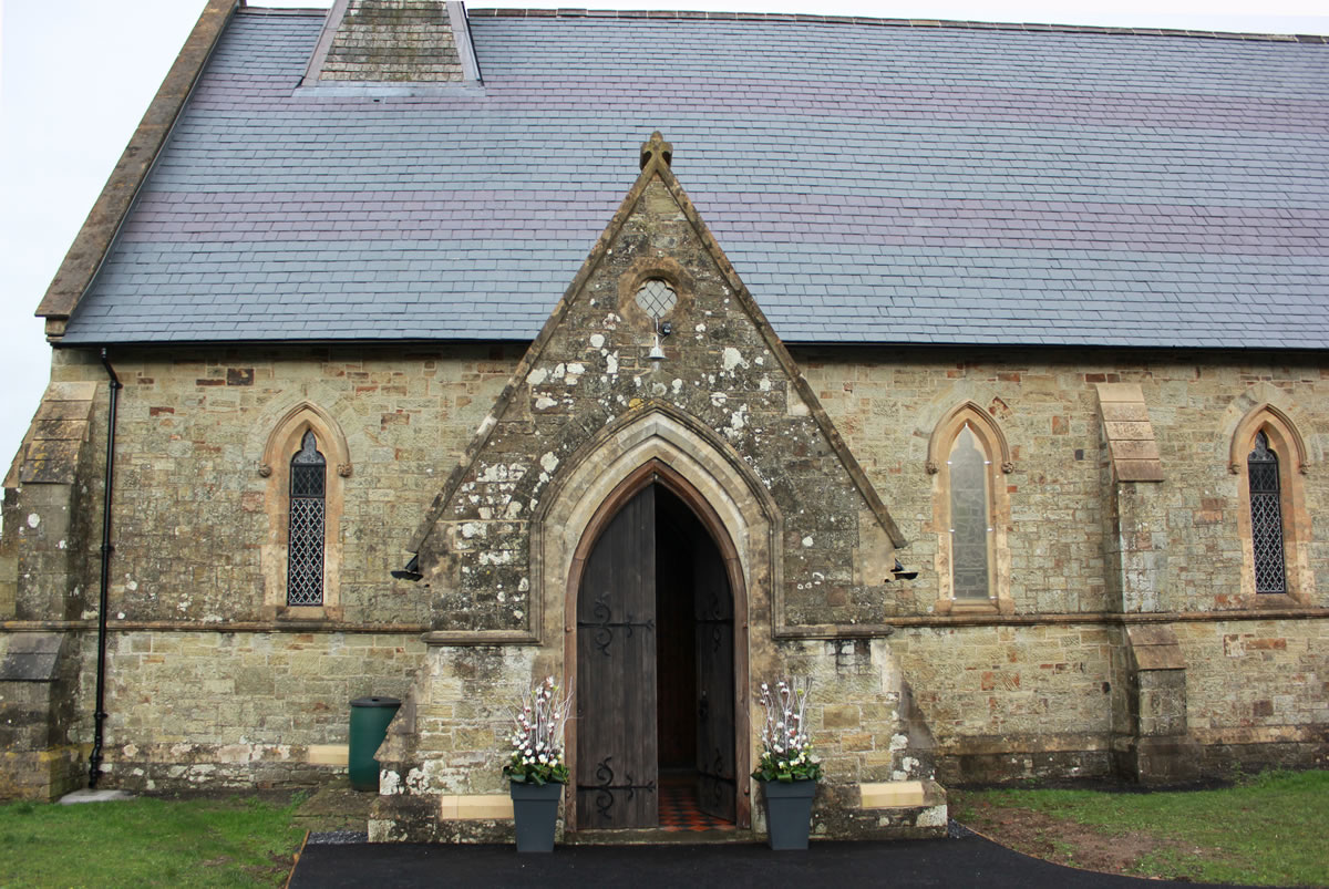 St Barnabas Church - the porch